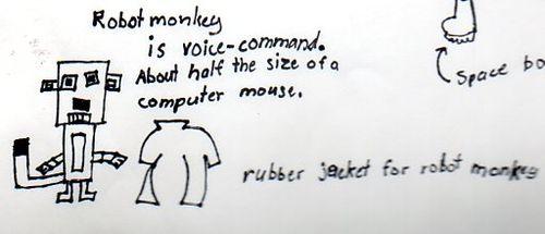 Tessie--daily pics robot monkey 9+246