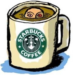 Starbucks_man_drowning